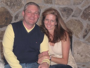 Alyson Gondek with husband, Mike