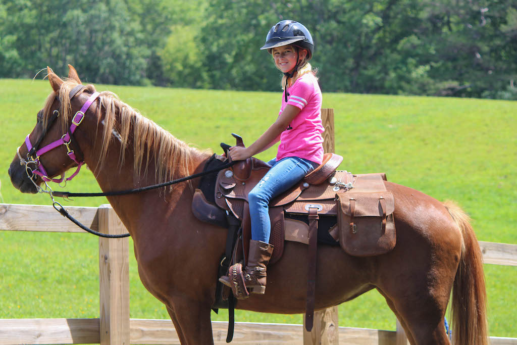Horseback Riding at Camp Woodmont